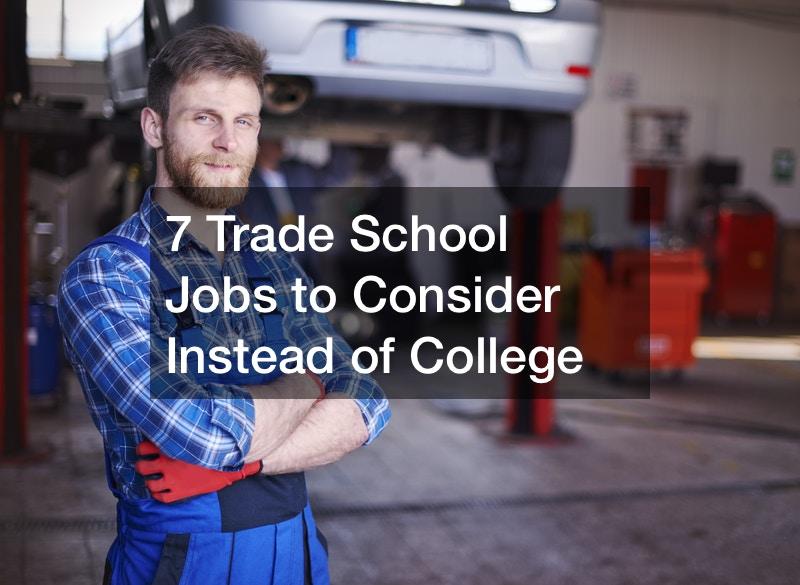 going to trade school instead of college