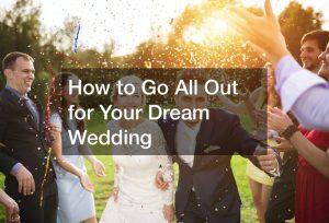 design dream wedding